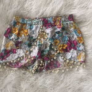 Floral Shorts Small